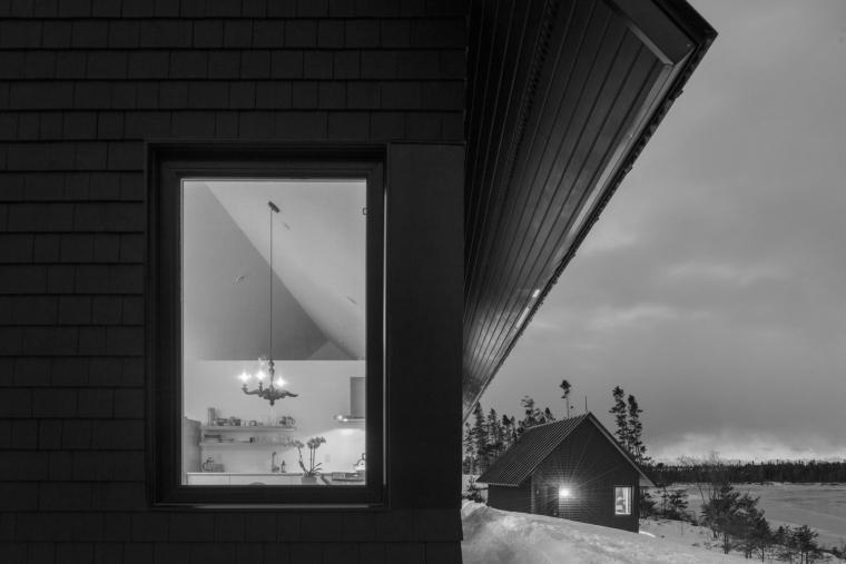 黑色三角墙住宅-黑色三角墙住宅第15张图片