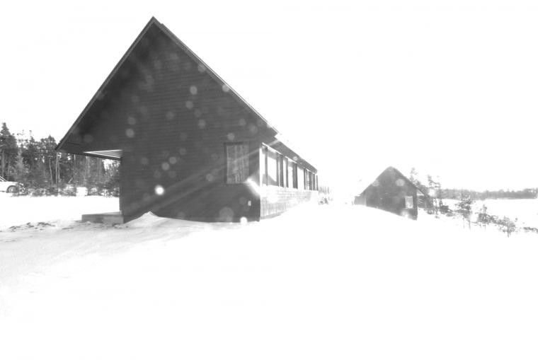 黑色三角墙住宅图解-黑色三角墙住宅第17张图片
