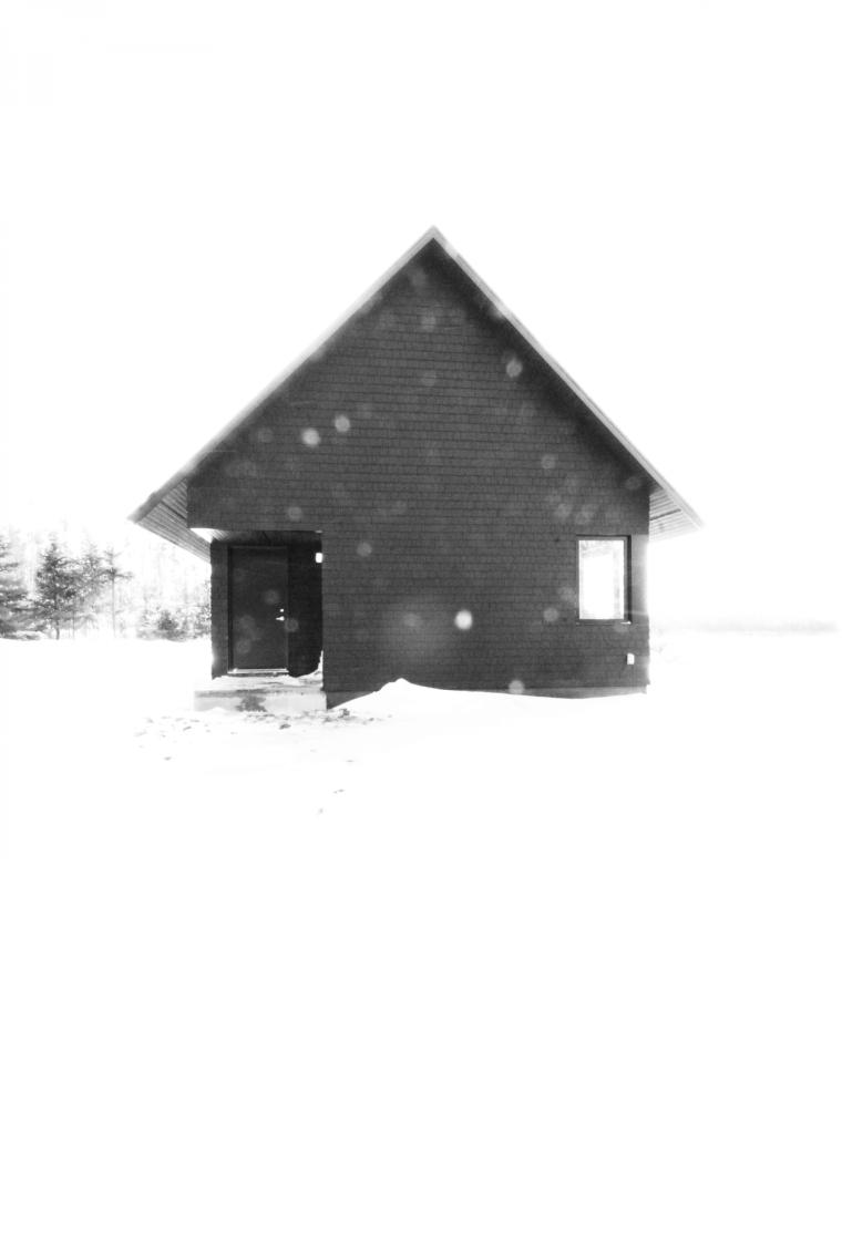 黑色三角墙住宅图解-黑色三角墙住宅第18张图片