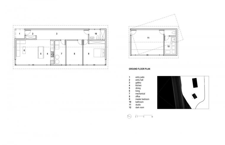 黑色三角墙住宅图解-黑色三角墙住宅第19张图片
