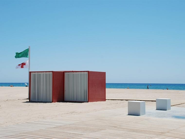 西班牙沙滩模块景观