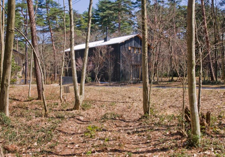日本daisen别墅外观图-日本daisen别墅第2张图片