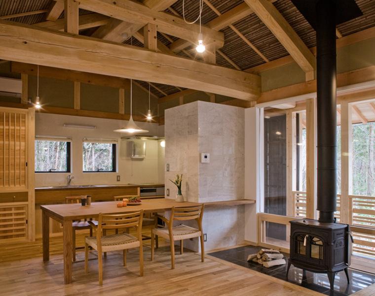 日本daisen别墅内部客厅局部图-日本daisen别墅第5张图片
