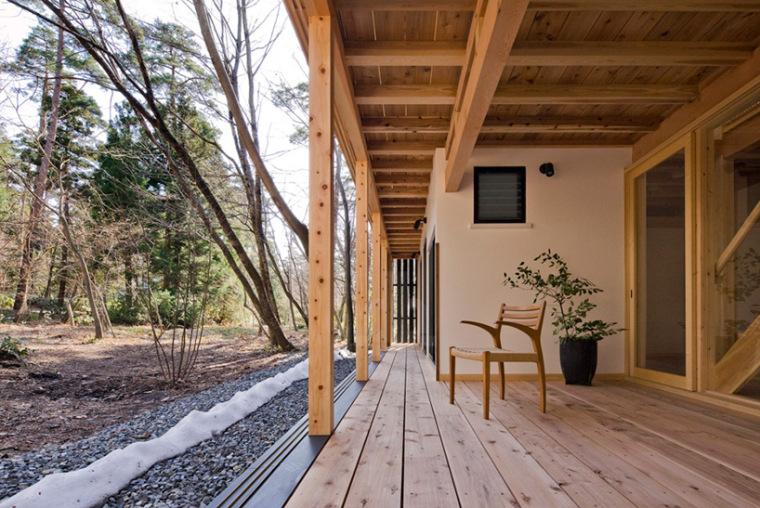 日本daisen别墅外部局部图-日本daisen别墅第3张图片
