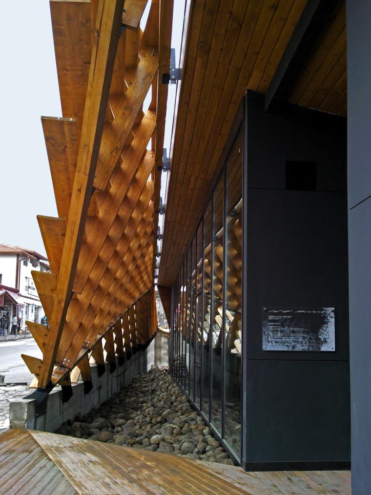保加利亚滑雪场改建外部局部图-保加利亚滑雪场改建第5张图片