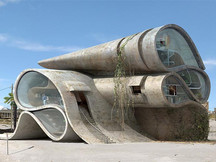 西班牙现实主义抗灾建筑第1张图片