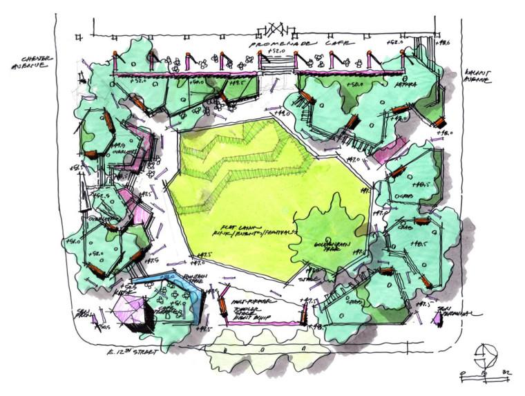 Perk公园景观图解-Perk公园景观第9张图片