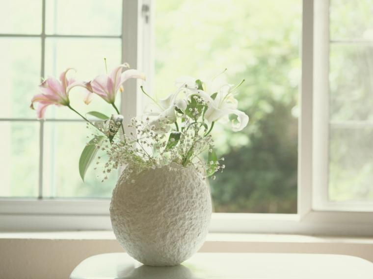 云竹纸花瓶
