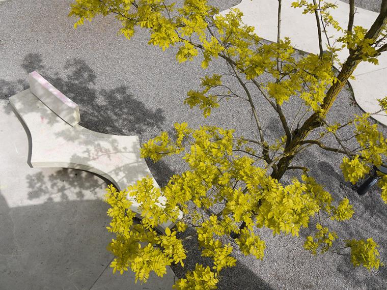瑞士的合作式住宅景观外部局部图-瑞士的合作式住宅景观第5张图片