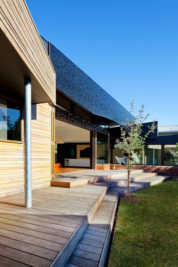 澳大利亚Balnarring 住宅外部局部-澳大利亚Balnarring 住宅第3张图片