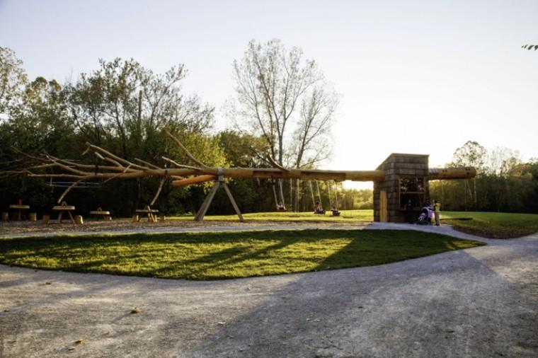 纳波利斯的筷子树景观外部图-纳波利斯的筷子树景观第3张图片
