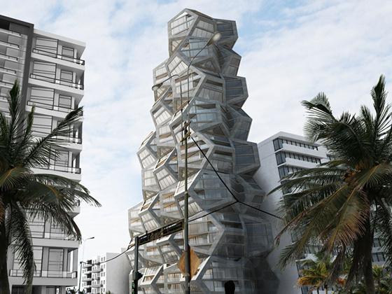 秘鲁五边形住宅楼