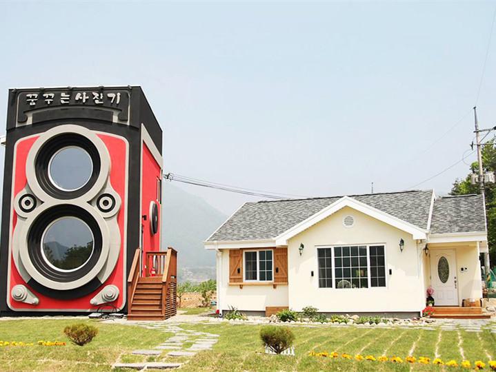 韩国禄莱福莱相机的咖啡厅