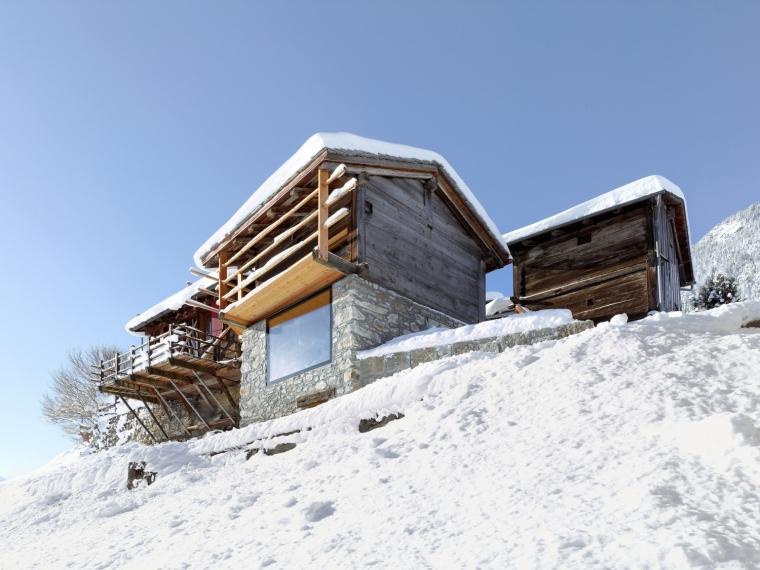 瑞士博伊塞特住宅改造项目