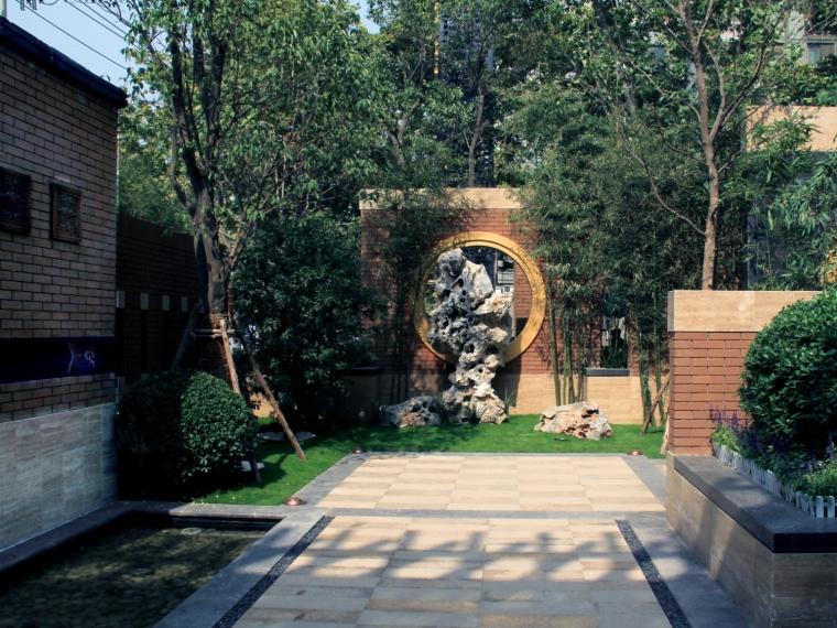 天朗蔚蓝观园新中式高档住宅景观