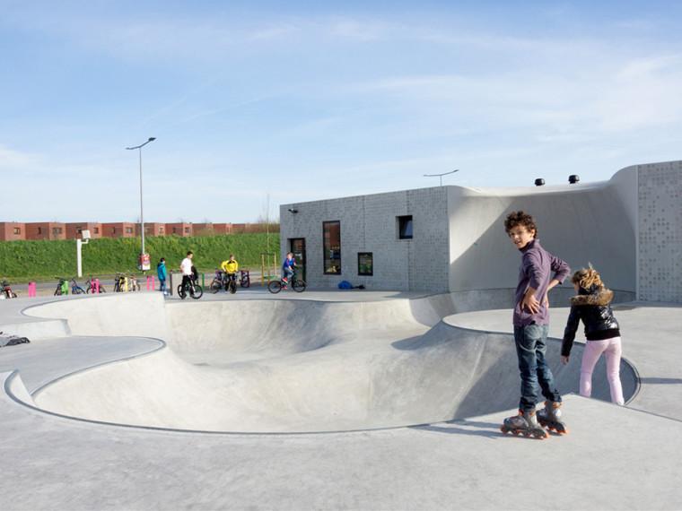 Kavel K青年溜冰活动场地景观