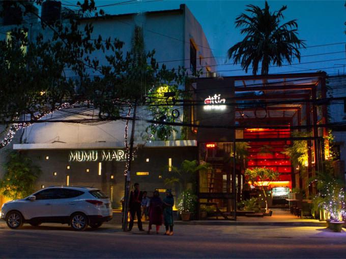 孟加拉咖啡厅和精品展厅