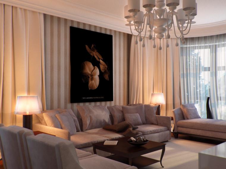 精致的室内视觉设计作品