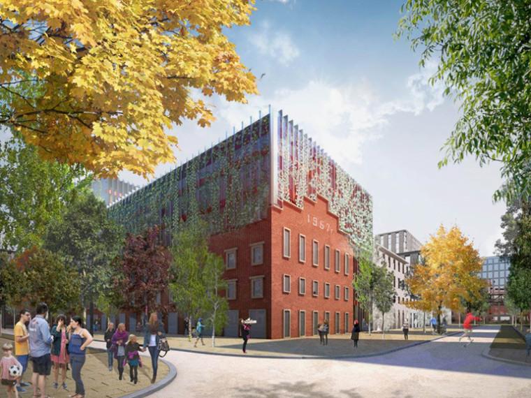 莫斯科serp & molot工业区改建
