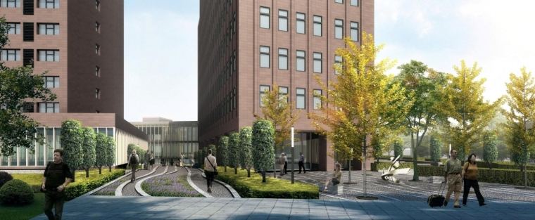 德国企业中心外部局部图-德国企业中心第2张图片