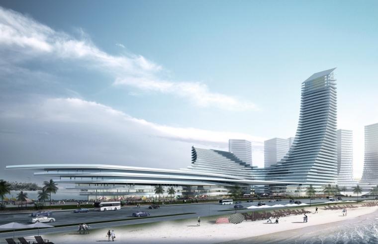 厦门东南国际航运中心外观图-厦门东南国际航运中心第2张图片