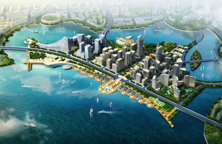 厦门东南国际航运中心规划图-厦门东南国际航运中心第7张图片