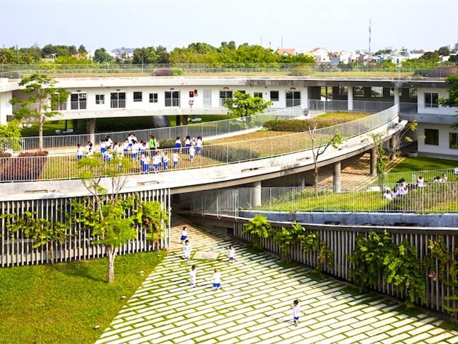 绿色屋顶农业幼儿园