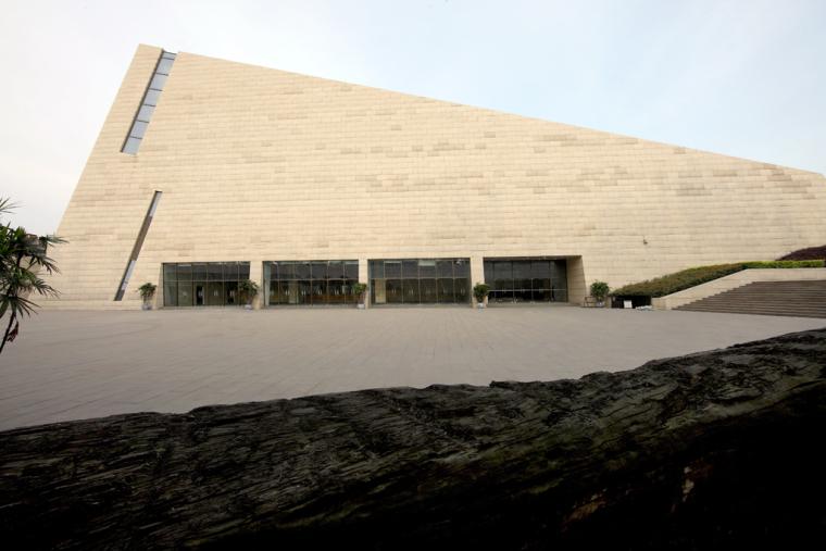 成都金沙遗址博物馆外观图-成都金沙遗址博物馆第3张图片
