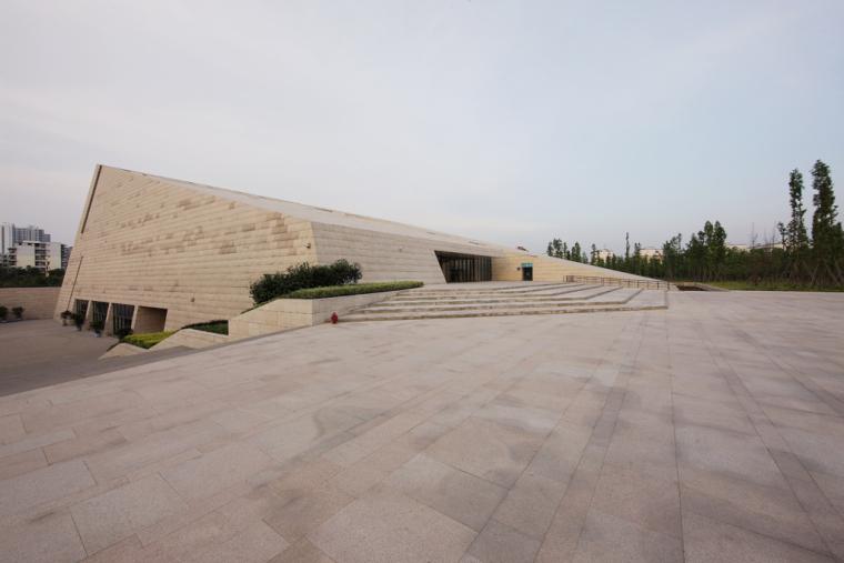 成都金沙遗址博物馆外观图-成都金沙遗址博物馆第4张图片