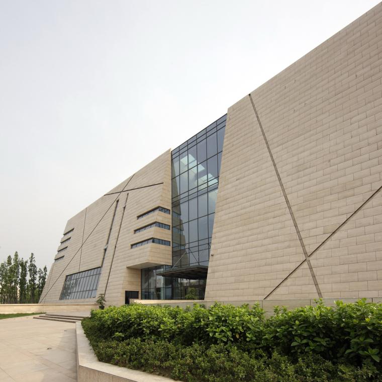 成都金沙遗址博物馆外观图-成都金沙遗址博物馆第5张图片