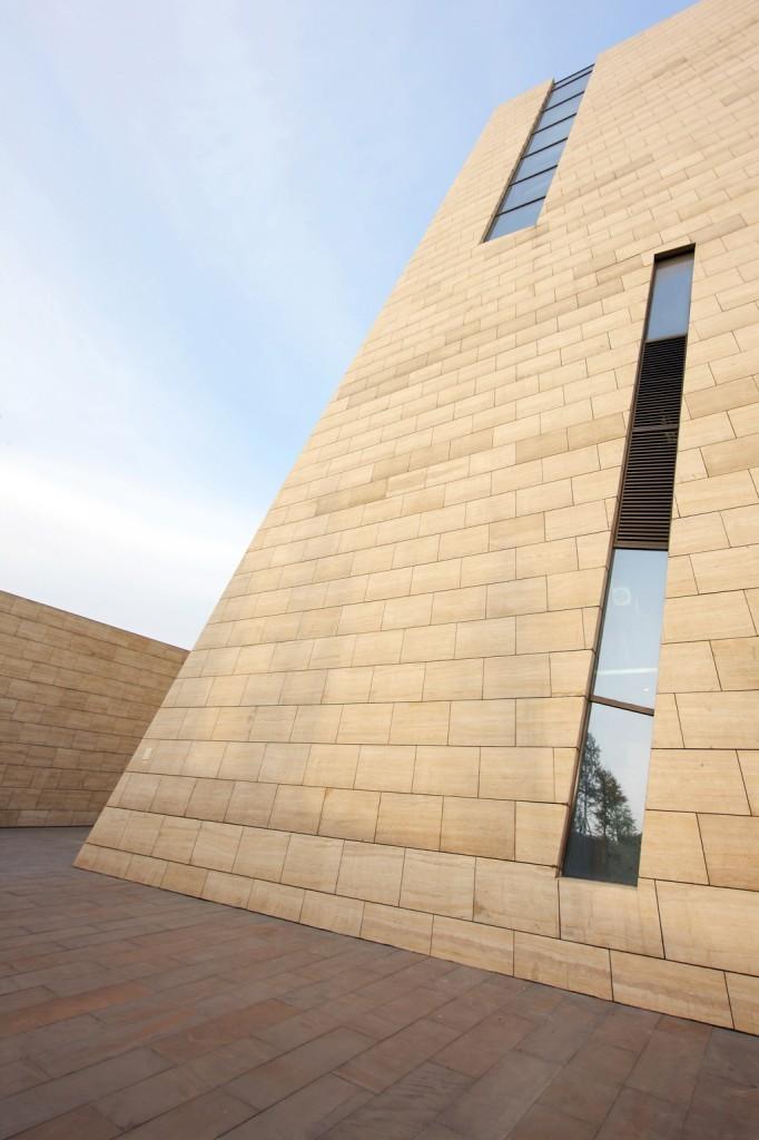 成都金沙遗址博物馆外部局部图-成都金沙遗址博物馆第6张图片