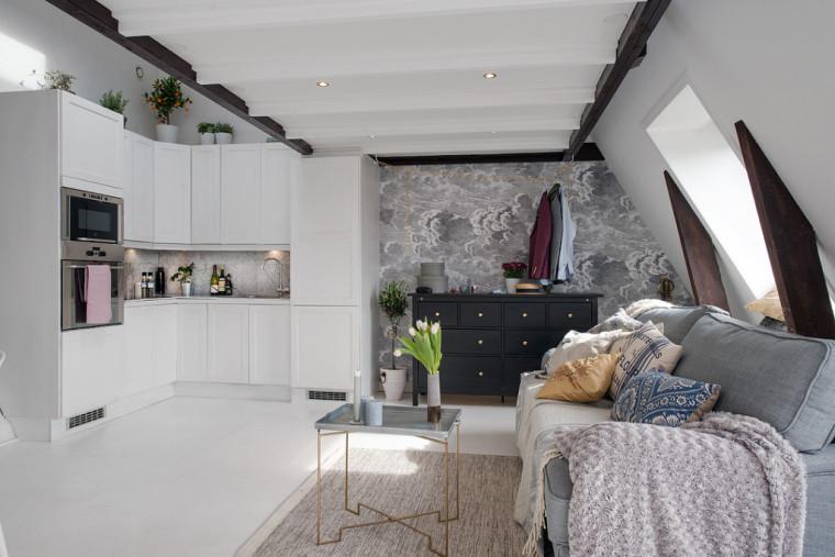 36平方小阁楼家居设计