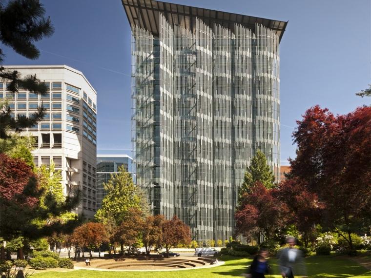 US现代建筑资料下载-美国EGWW现代化联排大厦