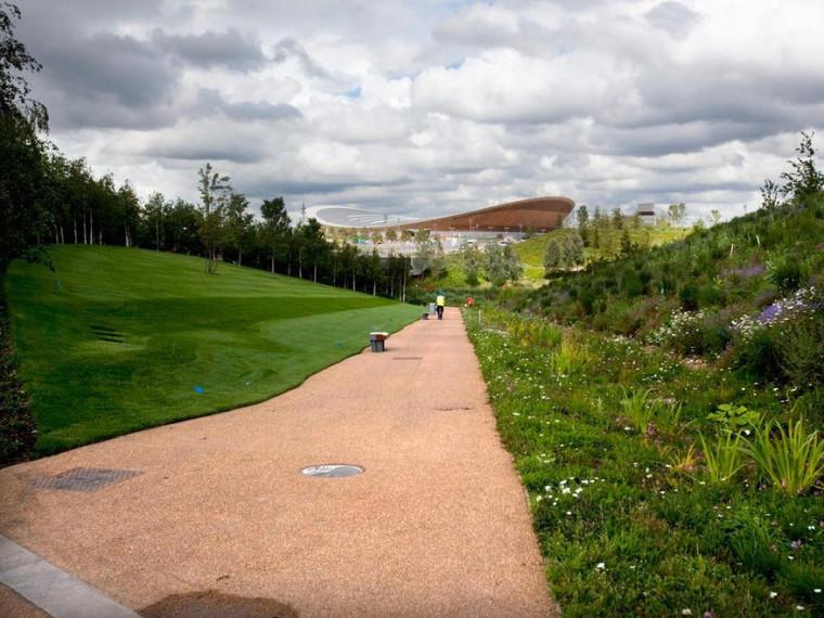 奥林匹克公园绿地和场地