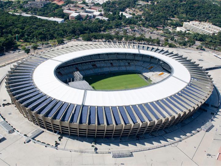 巴西世界杯mineirao体育场