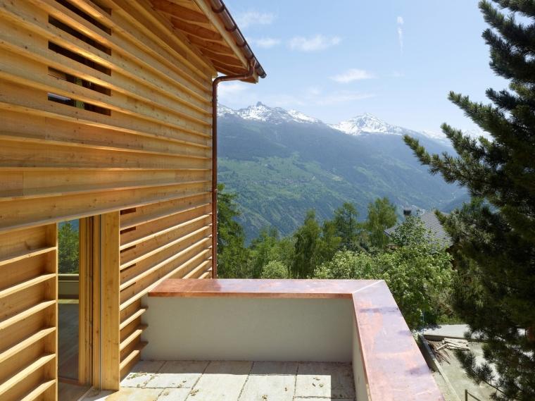 瑞士DEY住宅外部局部图-瑞士DEY住宅第5张图片