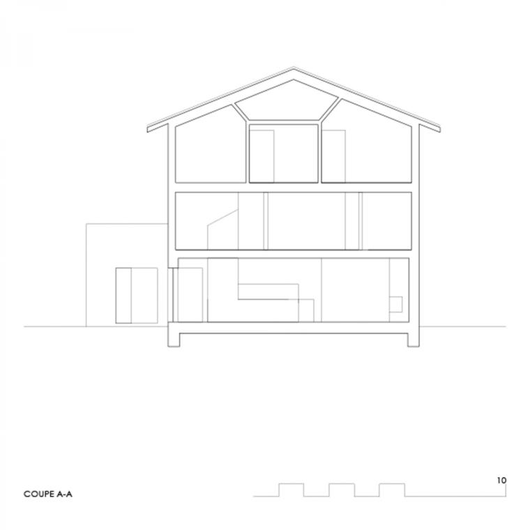 瑞士DEY住宅图解-瑞士DEY住宅第14张图片