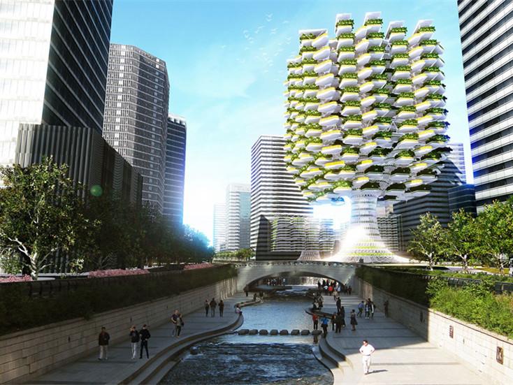 首尔的城市垂直农场