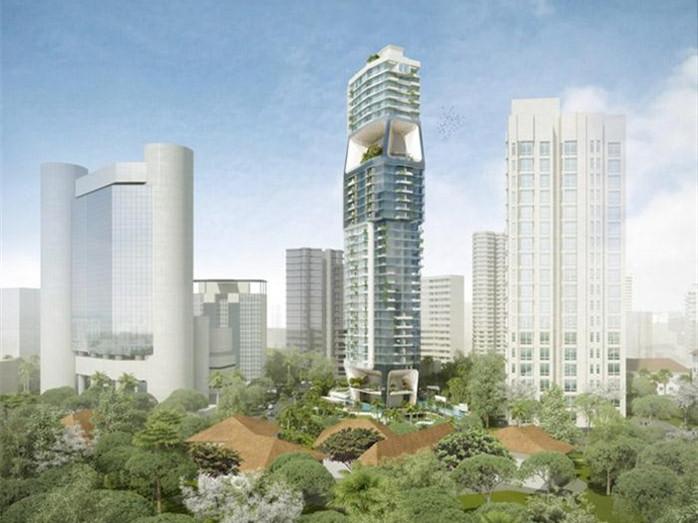 新加坡垂直城市项目