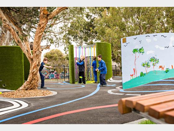 澳大利亚的儿童游乐场重建