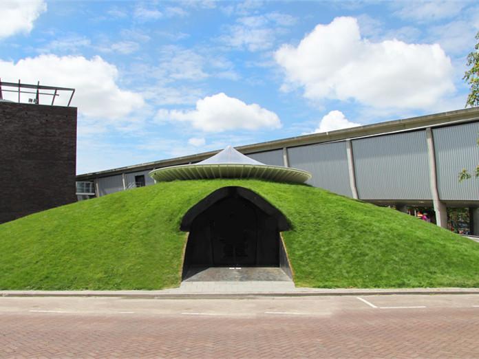 阿姆斯特丹的圆顶展示馆