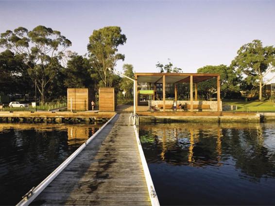 澳大利亚的海滨步道景观