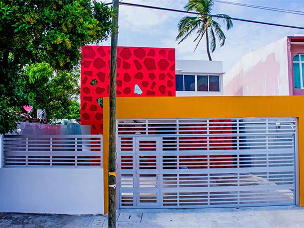 墨西哥红珊瑚住宅