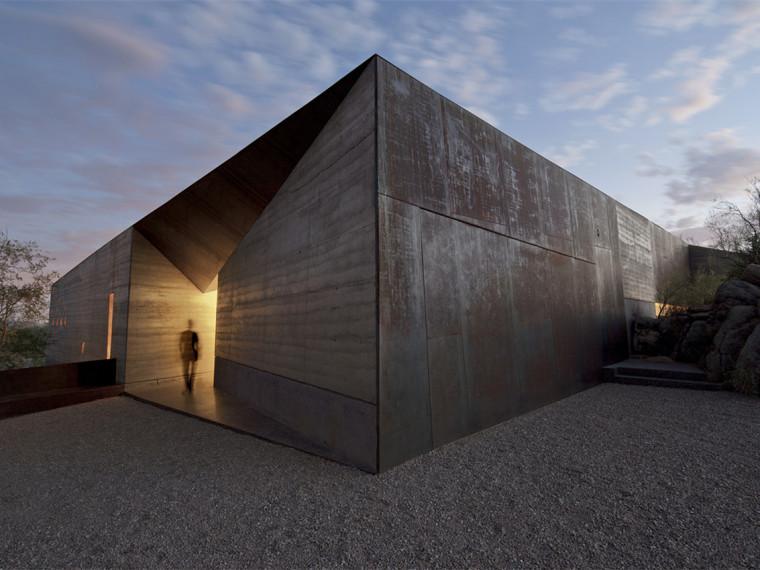 美国沙漠乡村别墅