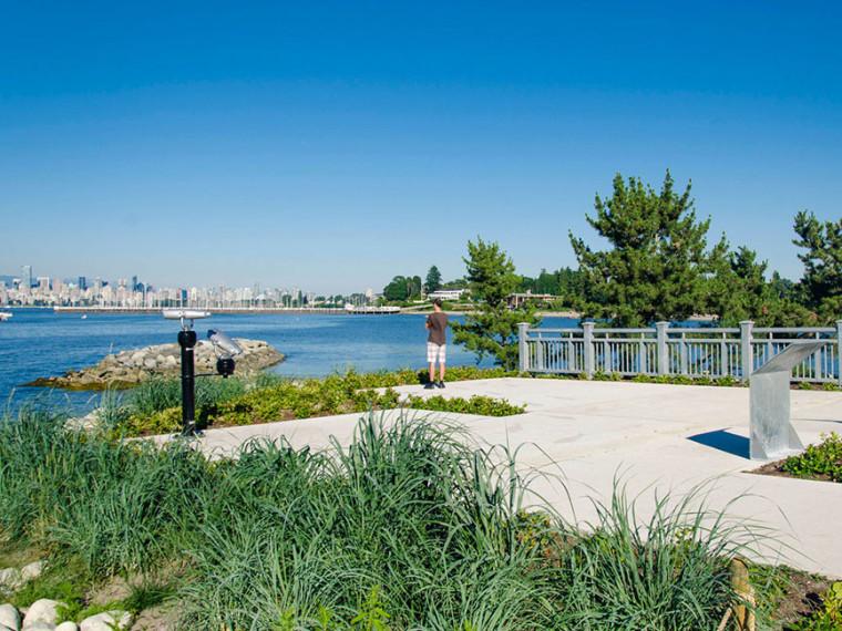 加拿大耶利哥边际码头公园重建