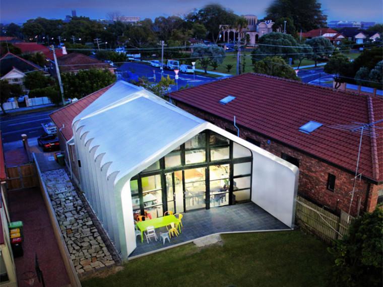 澳大利亚手风琴造型的民居住宅