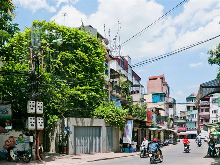 越南河内绿色房屋改造