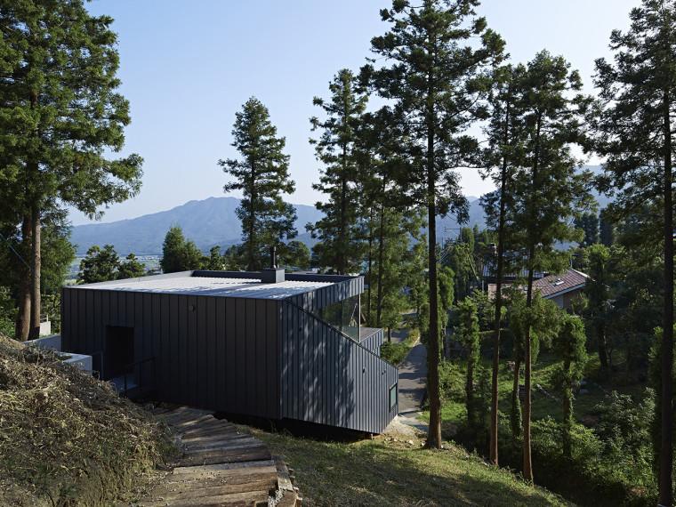 日本雷赞森林住宅