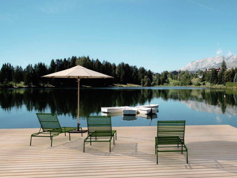 瑞士高山上的水上乐园