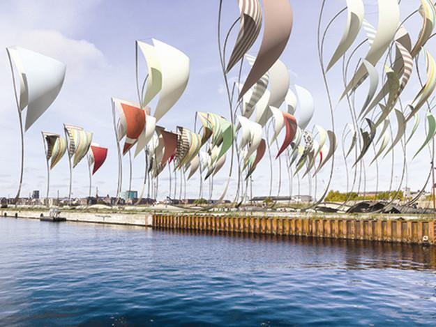 丹麦哥本哈根震动平台景观